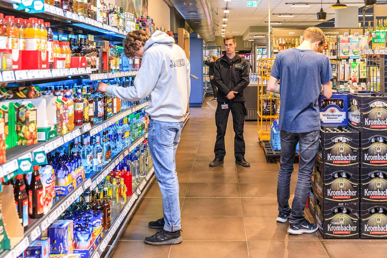 Arbeit Supermarkt